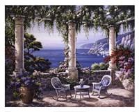 Mediterranean Terrace Fine-Art Print