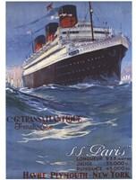 S.S Paris Fine-Art Print
