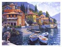 Lake Como Landing Fine-Art Print