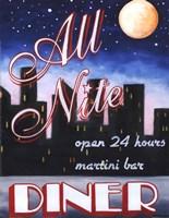 All Nite Diner Fine-Art Print