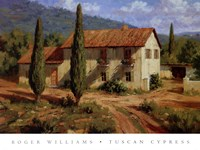 Tuscan Cypress Fine-Art Print