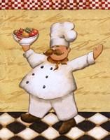 Le Chef Et Le Fruits Fine-Art Print