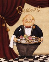 Waiter - Dessert Fine-Art Print