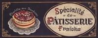 Patisserie Fine-Art Print
