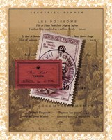 French Menu Fine-Art Print