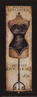 Paris Lingeries No 287 - Petite Fine-Art Print