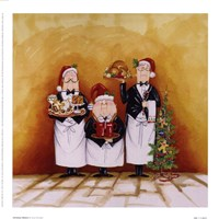 Christmas Waiters Fine-Art Print