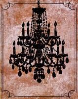 Chandelier II Fine-Art Print