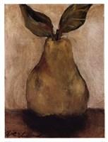 Golden Pear On Beige Fine-Art Print