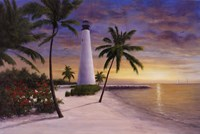 Lighthouse-Key Biscayne Fine-Art Print