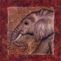 Elephant Safari Fine-Art Print