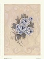 Roses Azure Fine-Art Print