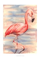 Pink Flamingo I Fine-Art Print
