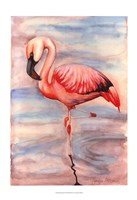 Pink Flamingo II Fine-Art Print