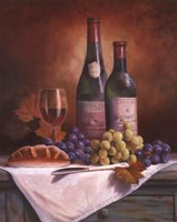 Wine & Grape II Fine-Art Print