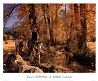 Eric's Fall Ride Fine-Art Print