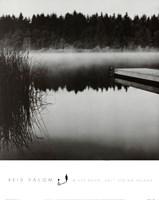 Misty Dock, Salt Spring Island Fine-Art Print