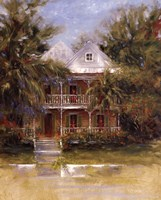 Keywest Cottage I Fine-Art Print