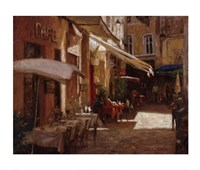 Cafe De Provence Fine-Art Print