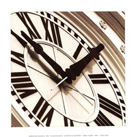 Clock I Fine-Art Print
