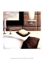 Modern Bath Elements I Fine-Art Print