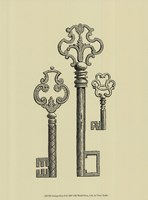Antique Keys II Fine-Art Print