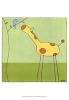 Stick-Leg Giraffe II Fine-Art Print