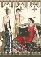 Art Deco Elegance IV Fine-Art Print