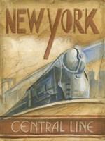 New York Central Line Fine-Art Print