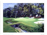 The 13th At Augusta-Azalea Fine-Art Print