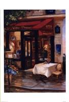 Cafe At Sunrise, Paris Fine-Art Print