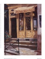 Shop Of The Three Steps, Paris Fine-Art Print