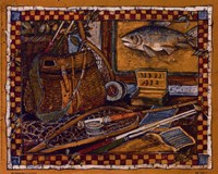 Eli's Fishing Gear Fine-Art Print