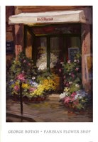 Parisian Flower Shop Fine-Art Print