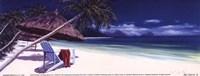 Secluded Beach II Fine-Art Print