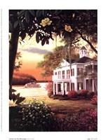 Sunrise On The Mississippi Fine-Art Print
