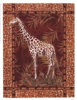 Lone Giraffe Fine-Art Print