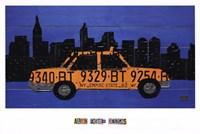 Nyc Taxi Cab Fine-Art Print