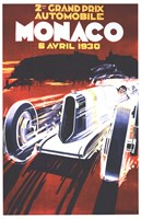 Grand Prix De Monaco 1930 Fine-Art Print