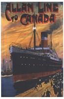 Allan Line To Canada Fine-Art Print