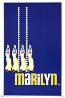 Marilyn, c.1963 - Blue Wall Poster