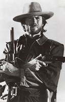 Clint Eastwood Wall Poster