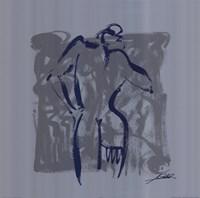 Body Language VIII (silver) Fine-Art Print
