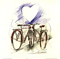 Bicycle Romance Fine-Art Print