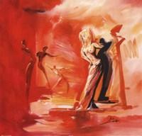 Romance in Red I Fine-Art Print