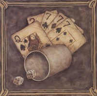 Poker - Sevens Fine-Art Print
