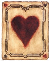 Card Suits - Hearts Fine-Art Print