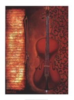 Red Cello Fine-Art Print