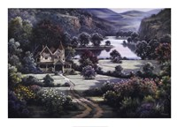 Country Manor Fine-Art Print