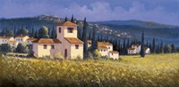 Hillside Village Fine-Art Print